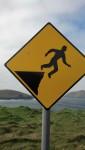 Warning Levitation Area