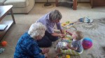 Playing with Nana and Granana (Grand Nana)