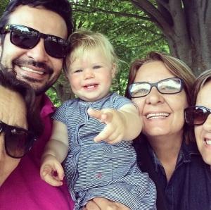 Familia brasileira de Molly