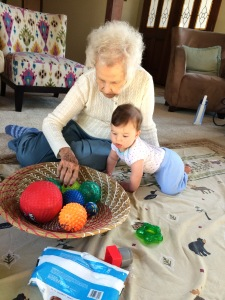 Playing with Grandnana