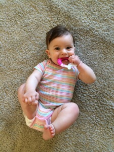 Happy (teething) baby