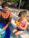Pool time with Nana
